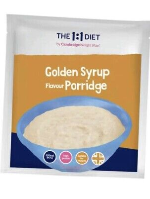 £16 • Buy The 1:1 Weight Plan CWP Diet Products - 7 X Golden Syrup Porridge 🥣