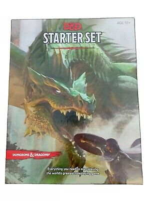 £17.99 • Buy D&D Dungeons And Dragons STARTER SET RPG Fantasy Board Game Unplayed Sealed Dice