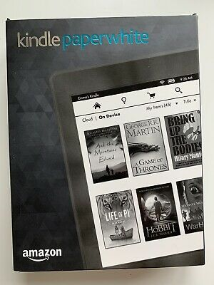 £35 • Buy Amazon Kindle Paperwhite 6th Generation 4GB Wi-Fi E-reader And Case Bundle