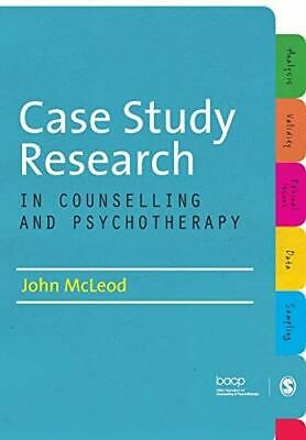 £29.39 • Buy Case Study Research In Counselling And Psychotherapy By John McLeod (Paperback 2