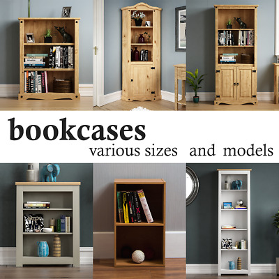 £46.95 • Buy 2 3 4 5 Tier Wooden Cube Bookcase Cabinet DVD Rack Shelving Display Storage