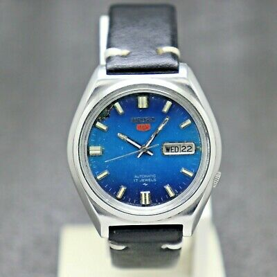 $ CDN30.22 • Buy Authentic Seiko 5 Automatic Movement 7009-8290 Japan Made Men's Watch.