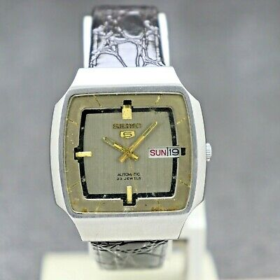 $ CDN30.22 • Buy Vintage Seiko 5 Automatic Movement 6349 Japan Made Men's Watch.