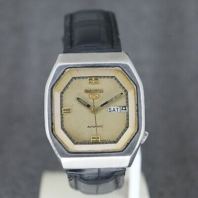 $ CDN36.26 • Buy Authentic Vintage Seiko 5 Automatic Movement 6309-5600 Japan Made Men's Watch.