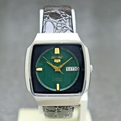$ CDN30.22 • Buy Vintage Seiko 5 Automatic Movement 6349-6040 Japan Made Men's Watch.