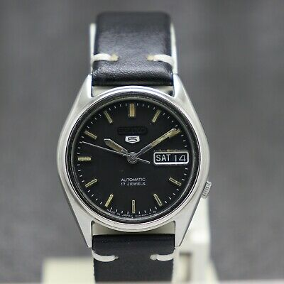 $ CDN30.22 • Buy Authentic Seiko 5 Automatic Movement 7009-6001 Japan Made Men's Watch.