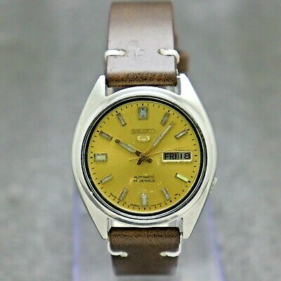 $ CDN30.22 • Buy Authentic Seiko 5 Automatic Movement 7009-3041 Japan Made Men's Watch.