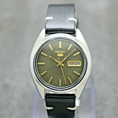 $ CDN30.22 • Buy Vintage Seiko 5 Automatic Movement 7009-8740 Japan Made Men's Watch.
