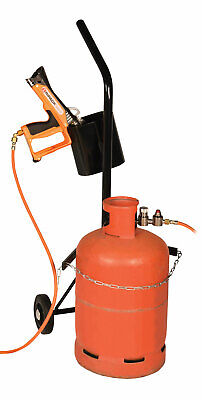 £115.56 • Buy Gas Cylinder Trolley With Single Handle And Gun Storage Holster