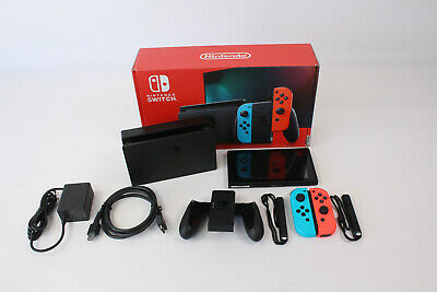 $ CDN344.61 • Buy Nintendo Switch 32GB Neon Red/Neon Blue Console