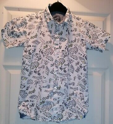 Blue Zoo Buttoned Shirt, 12 Year Old. • 1.50£