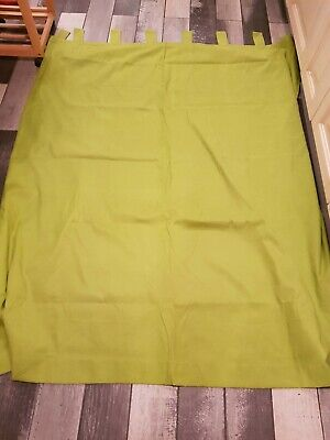 £10 • Buy Home Living Green Tab Top Curtains