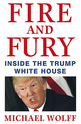 AU10.98 • Buy Fire And Fury: Inside The Trump White House - Michael Wolff - Hardback - NEW