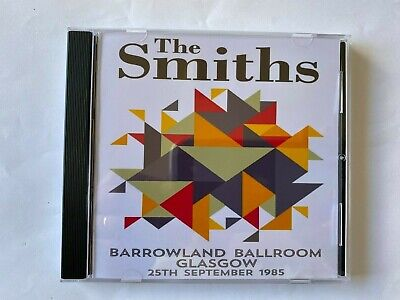 The Smiths Live Glasgow Barrowland Sept 1985 CD *new* Morrissey Johnny Marr • 8£
