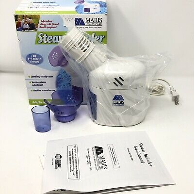 $ CDN57.44 • Buy New! MABIS Healthcare 40-741-000 Personal Steam Inhaler - Allergies, Colds