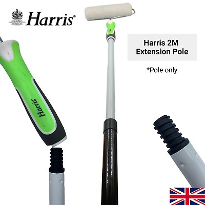 £9.99 • Buy Harris Extension Pole 2m Paint Roller Extendable Long Handled Wall Ceiling DIY