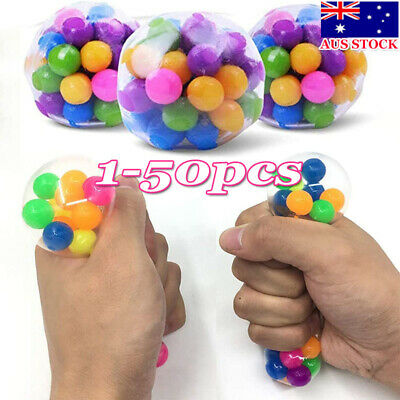 AU11.99 • Buy Dna Stress Ball Non-toxic Color Sensory Toy Office Squishy Ball Pressure Balls