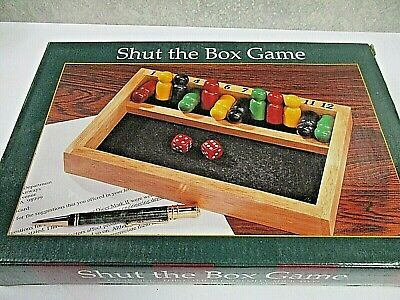 £7.09 • Buy 12 Number Shut The Box Game