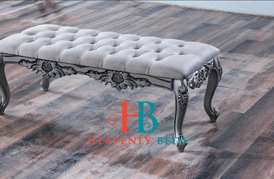 £149.99 • Buy Bedroom Dressing Bench Footstool French Style Window Seat End Of Bed Footstool