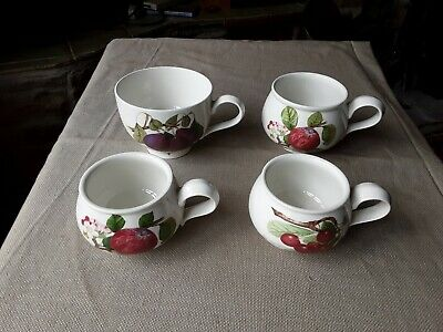 £8 • Buy Portmeirion Pomona Cups 2 Large 2 Small