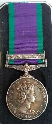 £57 • Buy Northern Ireland** Silver Campaign Service Medal  Issued *
