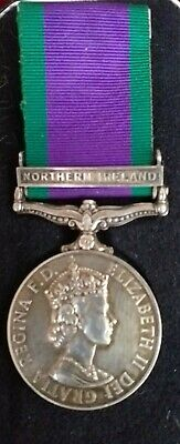 £67.03 • Buy Northern Ireland** Silver Campaign Service Medal  Issued **