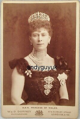 £4.99 • Buy Cabinet Card Princess Of Wales Queen Mary Of Teck Antique Royalty Photo Royal