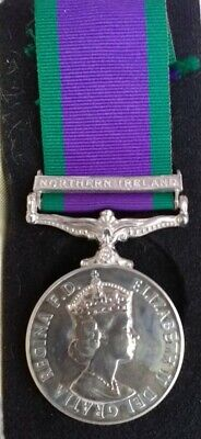 £55.03 • Buy Northern Ireland** Silver Campaign Service Medal  Issued ***