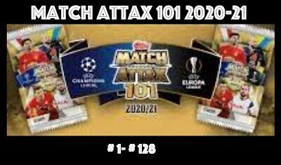 £1.95 • Buy Topps Match Attax 101 2020-2021 2020/21 Choose Your Cards 1-128