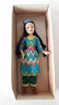 £11.99 • Buy Handcrafted Porcelain Russian Traditional Doll Deagostini *