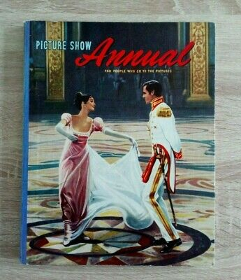£10 • Buy Picture Show Annual 1958 Vintage Cinema/Pictures/Film/Movies Hardback Book
