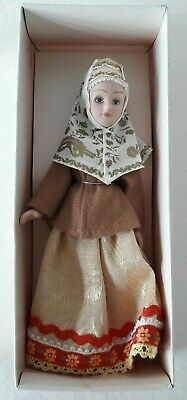 £11.99 • Buy Handcrafted Porcelain Russian Traditional Doll Deagostini **