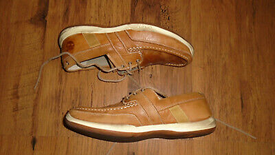 £24.99 • Buy Timberland Tan Leather Deck Boat Shoes Size 10