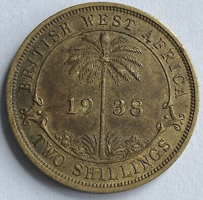 £3.99 • Buy British West Africa 2 Shillings 1938 H (KM#24)