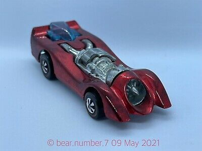 $ CDN10.21 • Buy Hot Wheels Redline 1970 Jet Threat Red Excellent Condition RED - UNCOMMON COLOUR