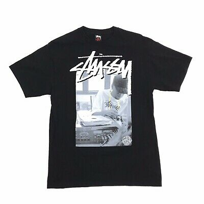 £141.25 • Buy STUSSY X J Dilla X Stones Throw Records 2010 Limited Edition T-shirt SZ. M