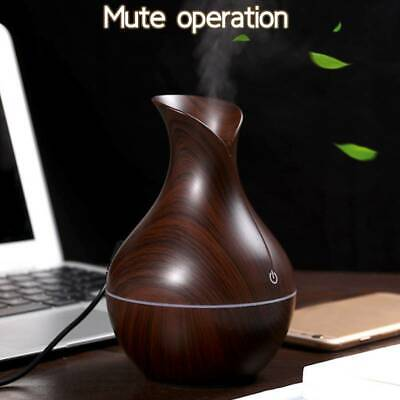 AU23.69 • Buy Ultrasonic Aroma Humidifier USB 7 Colors Essential Oil Diffuser Led Air Purifier