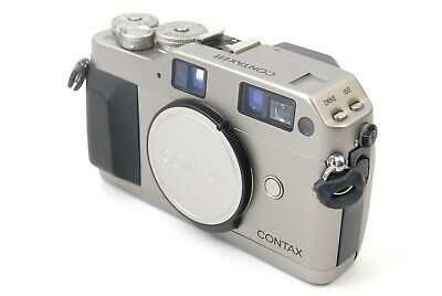 $ CDN384.94 • Buy CONTAX G1 Film Camera BODY ONLY SILVER Free Shipping From Japan