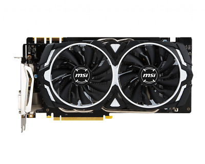$ CDN851.95 • Buy MSI GeForce GTX 1070 Armor 8G OC *Fast And Free Delivery*