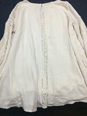 AU190 • Buy Spell And Gypsy Design Eaglehawk Off White/ Cream  Short Dress XL