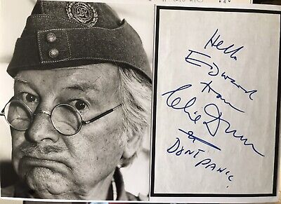 £20 • Buy Clive Dunn Dads Army Signed Autograph