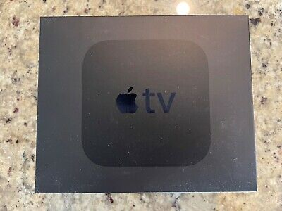 AU78.65 • Buy Apple TV (4th Generation) 32GB HD Media Streamer - Black (MR912LL/A)