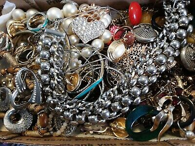 $ CDN18.15 • Buy #13 Vintage To Now Estate Find Jewelry Lot Junk Drawer Unsearched Untested Wear