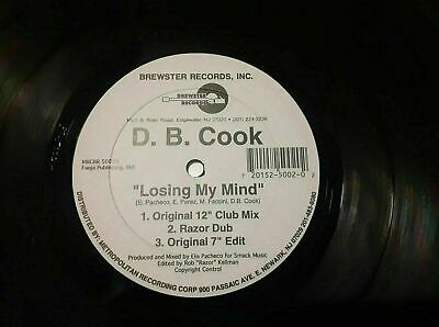 £14.54 • Buy D.B. Cook – Losing My Mind (Rare Freestyle)