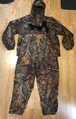 £88.73 • Buy Nwot Cabelas Xl Mens Advantage Timber Camouflate Coat Bib Overalls Hunt Lightwt
