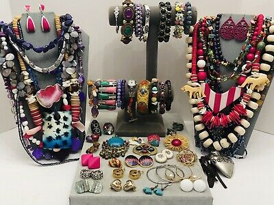 $ CDN10.31 • Buy Huge Vintage To Now Jewelry Lot - Estate Find - All Wearable Pieces - 5 Lbs +