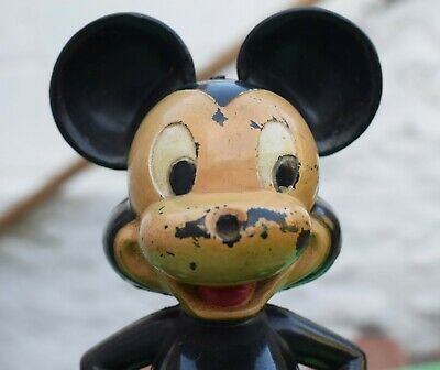 £49.99 • Buy Vintage MARX Toys Clockwork MICKEY MOUSE Working Wind-up Disney Figure Hong Kong