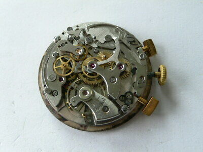 $ CDN240.78 • Buy Vintage Chronograph Movement With Pushers