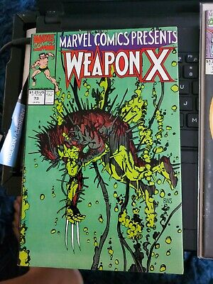 £4.25 • Buy Marvel Comics Presents (1988) #73 Weapon X See Pictures