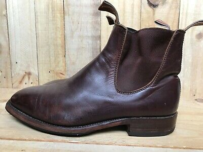 £72.74 • Buy RM Williams Craftsman Chelsea Boot Brown Leather Size UK 8 H | USA 9